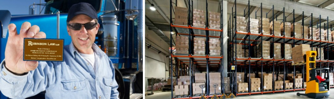 warehouse and trucking injuries