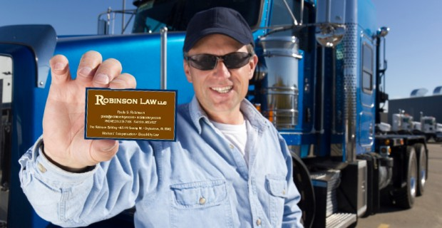 Trucker with Paulas Card