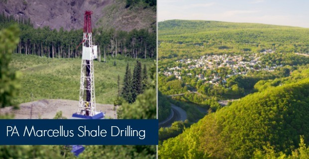 pa marcellus shale drilling